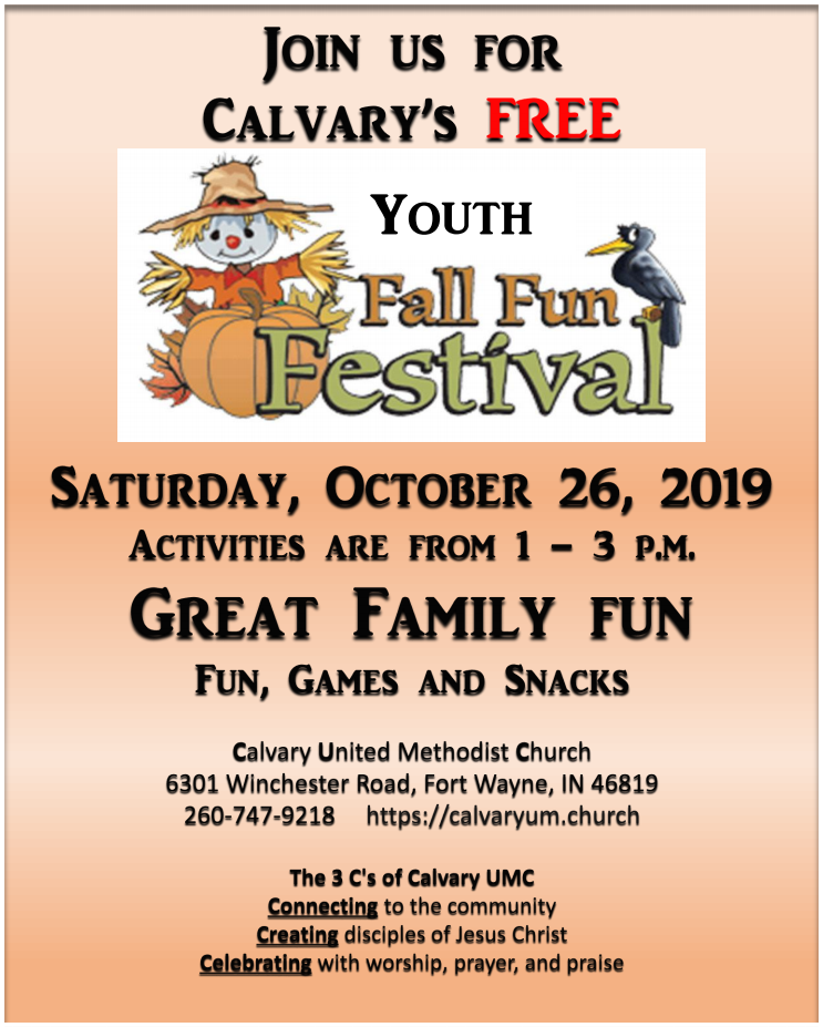 Kids Free Fun Fall Festival Flyer